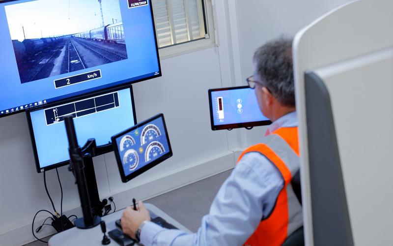 Le pupitre de télé-conduite TC-Rail présenté au forum des IRT & ITE