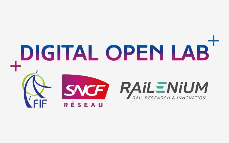 Digital Open Lab, la digitalisation du ferroviaire