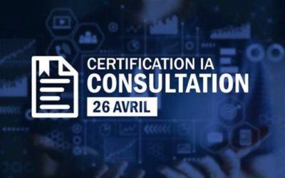 IA : appel public à commentaires sur un référentiel de certification